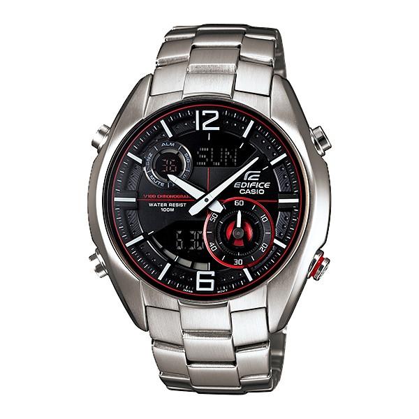 นาฬิกา คาสิโอ Casio Edifice Analog-Digital รุ่น ERA-100D-1A4V สินค้าใหม่ ของแท้ ราคาถูก พร้อมใบรับประกัน