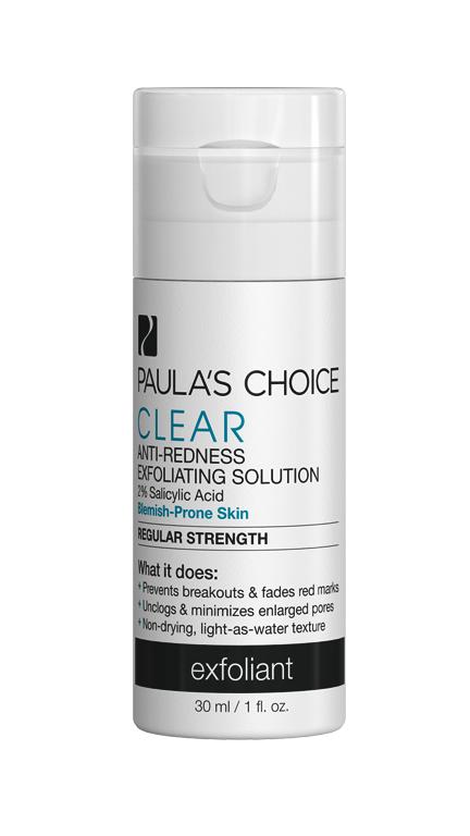 PAULA'S CHOICE :: DELUXE Clear Regular Strength Anti Redness Exfoliating Solution เนื้อน้ำ รักษา ลดการเกิดสิว สำหรับทุกสภาพผิว