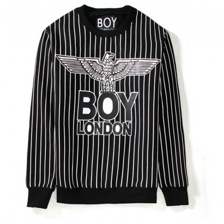 เสื้อแขนยาว BOYLONDON Eagle Stripe Sweater