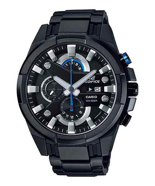 นาฬิกา คาสิโอ Casio Edifice Chronograph รุ่น EFR-540BK-1AV สินค้าใหม่ ของแท้ ราคาถูก พร้อมใบรับประกัน