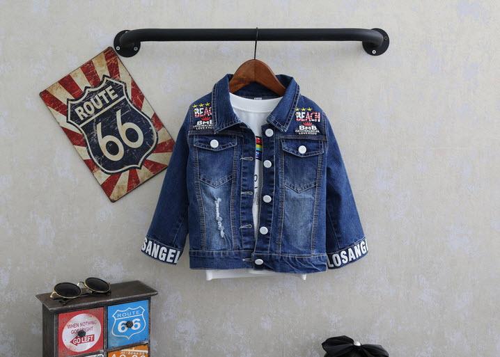 **เสื้อแจ็คเก็ตยีนต์หนาแขนยาวCowboy | ตามรูปแขนมีตัวหนังสือ | 5-7-9-11-13 | 5ตัว/แพ๊ค | เฉลี่ย 350/ตัว