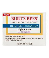 SALE 30% OFF :: BURT'S BEES :: Burt's bee Intense Hydration Night Cream ครีมสูตรกลางคืน บำรุงล้ำลึก ปรับผิวให้เนียนนุ่ม เพิ่มความชุ่มชื่น