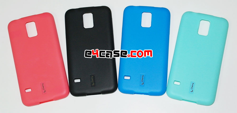 เคส Galaxy S5 (Samsung i9600) - Cherry เคสยางผิวด้าน