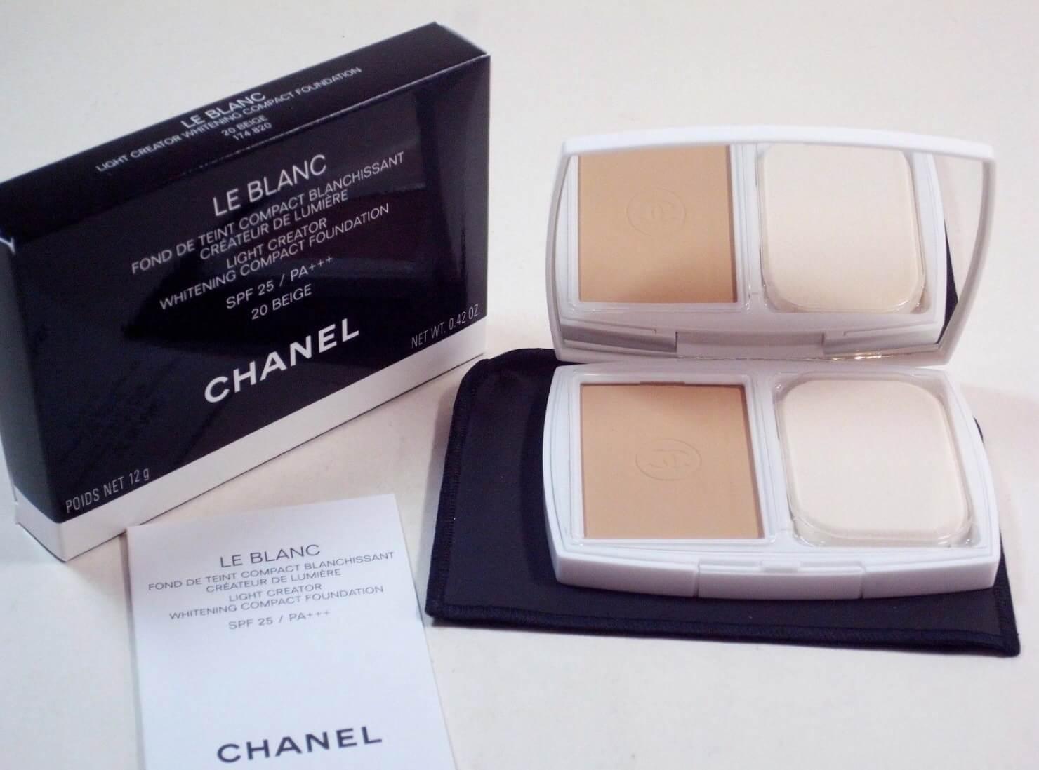 Chanel Le Blanc Light Creator Whitening Compact Foundation SPF 25 / PA+++ 12g
