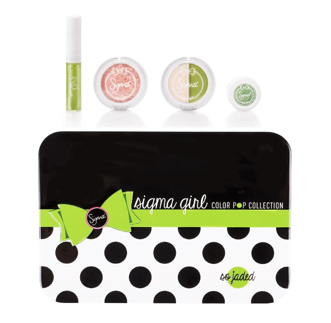 ลด 20 % SIGMA :: Color Pop Makeup Kit - So Jaded ชุดแต่งหน้า สีสันสดใส So Jaded คอเล็คชั่นใหม่จาก Sigma