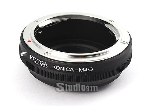 อแดปเตอร์แปลงท้ายเลนส์ KONICA AR ใช้กับกล้อง M4/3