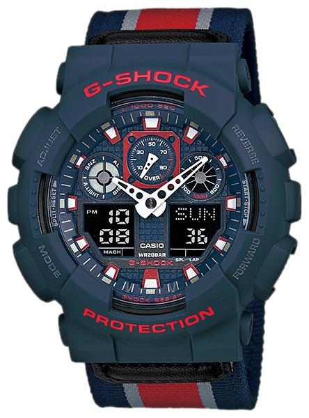 นาฬิกา คาสิโอ Casio G-Shock Limited Models รุ่น GA-100MC-2A สินค้าใหม่ ของแท้ ราคาถูก พร้อมใบรับประกัน