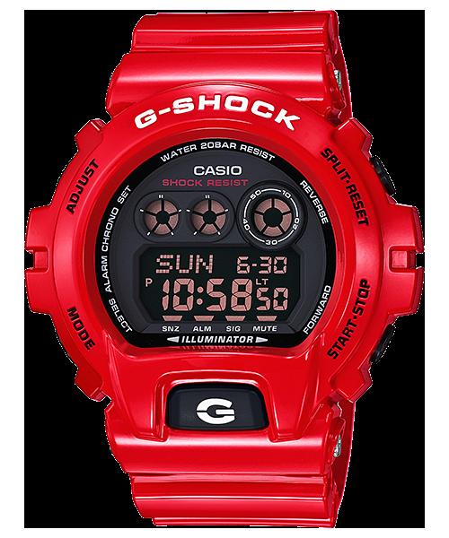 นาฬิกา คาสิโอ Casio G-Shock Limited Models Solid Red RD Series รุ่น GD-X6900RD-4 สินค้าใหม่ ของแท้ ราคาถูก พร้อมใบรับประกัน