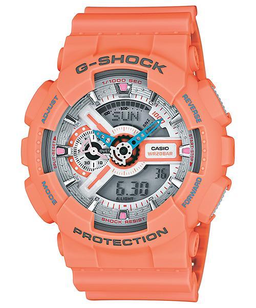 นาฬิกา คาสิโอ Casio G-Shock Limited Models Dusty Neon Series รุ่น GA-110DN-4A สินค้าใหม่ ของแท้ ราคาถูก พร้อมใบรับประกัน