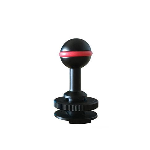 NiteScuba Hotshoe Ball Mount Adaptor