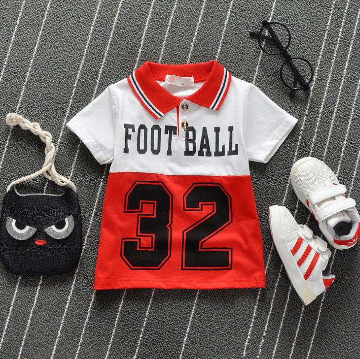 **เสื้อโปโล 32 |แดง | S-XL | 4ตัว/แพ๊ค | เฉลี่ย 125/ตัว