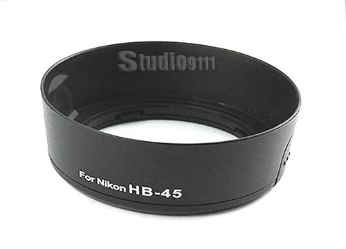 HOOD ทดแทนสำหรับ NIKON HB-45