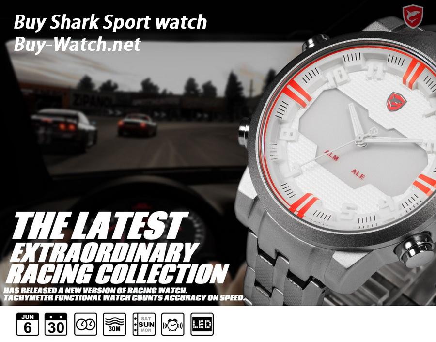 นาฬิกาShark รุ่นใหม่, นาฬิกาแฟชั่น 2 ระบบ จาก Buy-Watch