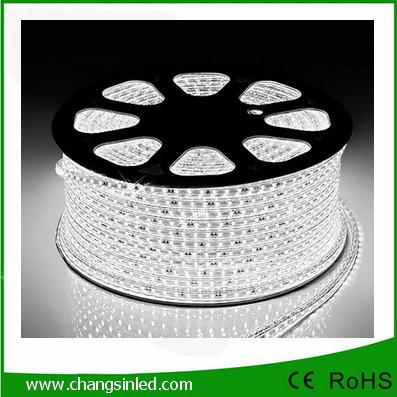 ไฟเส้น LED แบบแบน ROPELIGHT SMD 5050/6.5mm AC 220v.White ยาว 100เมตร