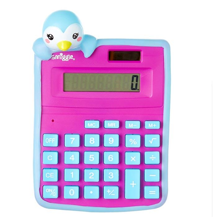 SMM049 เครื่องคิดเลข smiggle Friends Calculator (1)