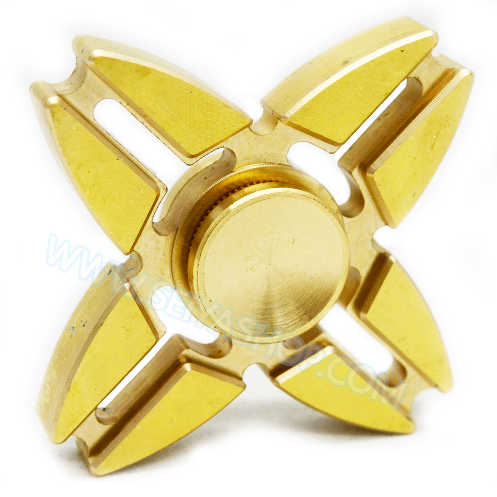 HF226 Fidget spinner -Hand spinner - GYRO (ไจโร) ทองเหลือง