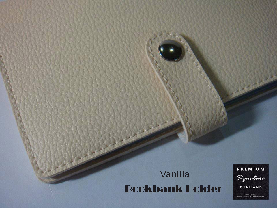 Vanilla(ครีม) - Bookbank Holder