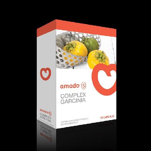 (ซื้อ 1 แถม 1) Amado S อมาโด้ เอส กล่องส้ม อมาโด้ลดน้ำหนัก ปลอดภัยมีหมอดูแล