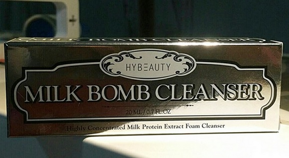 Hybeauty Milk Bomb Cleanser ไฮบิวตี้ มิลค์ บอม คลีนเซอร์ 100ml ส่ง ems ฟรีค่ะ