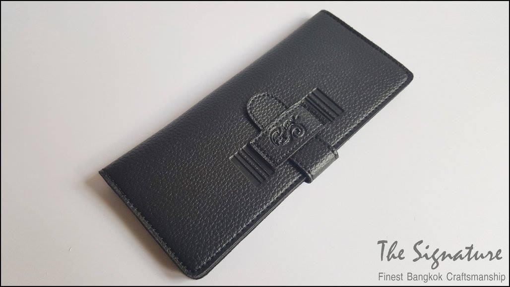 Pure Black(ดำ) - Sashy Yen Wallet