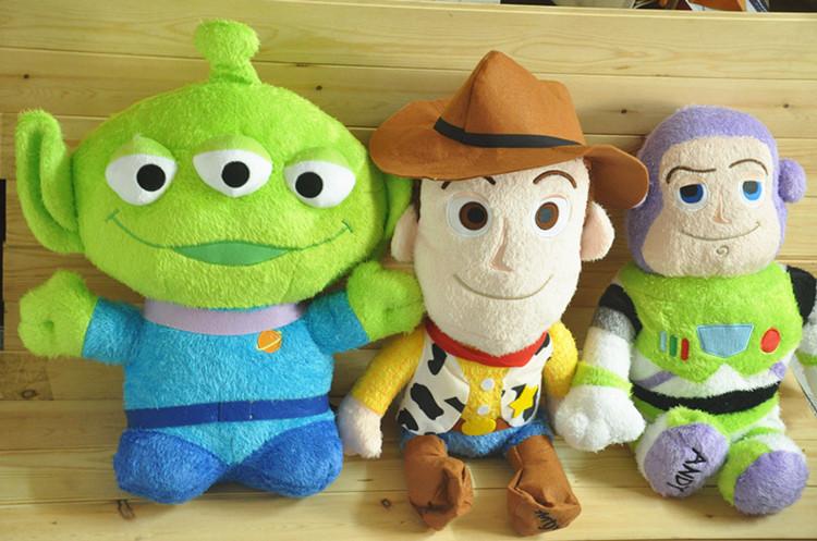 ตุ๊กตา Toy Story ขนเปียก