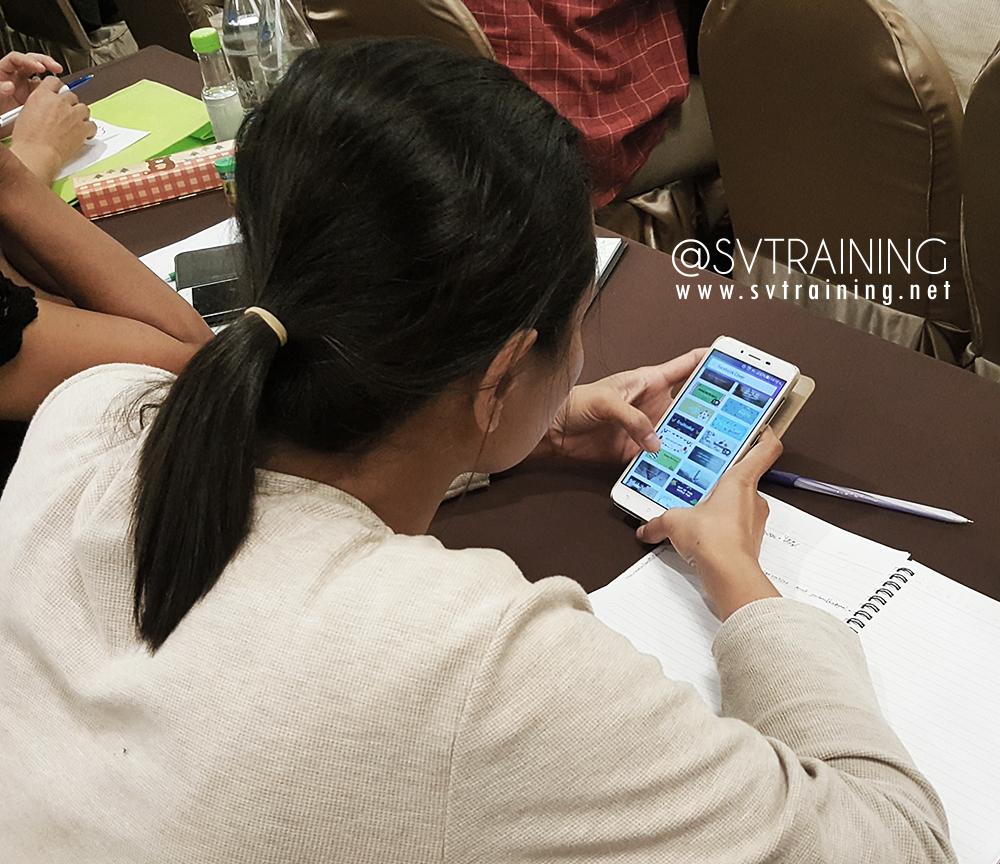 สอนหลักสูตรการตลาดออนไลน์และขายของออนไลนโืด้วยการใช้มือถือโดยอาจารย์ใบตอง