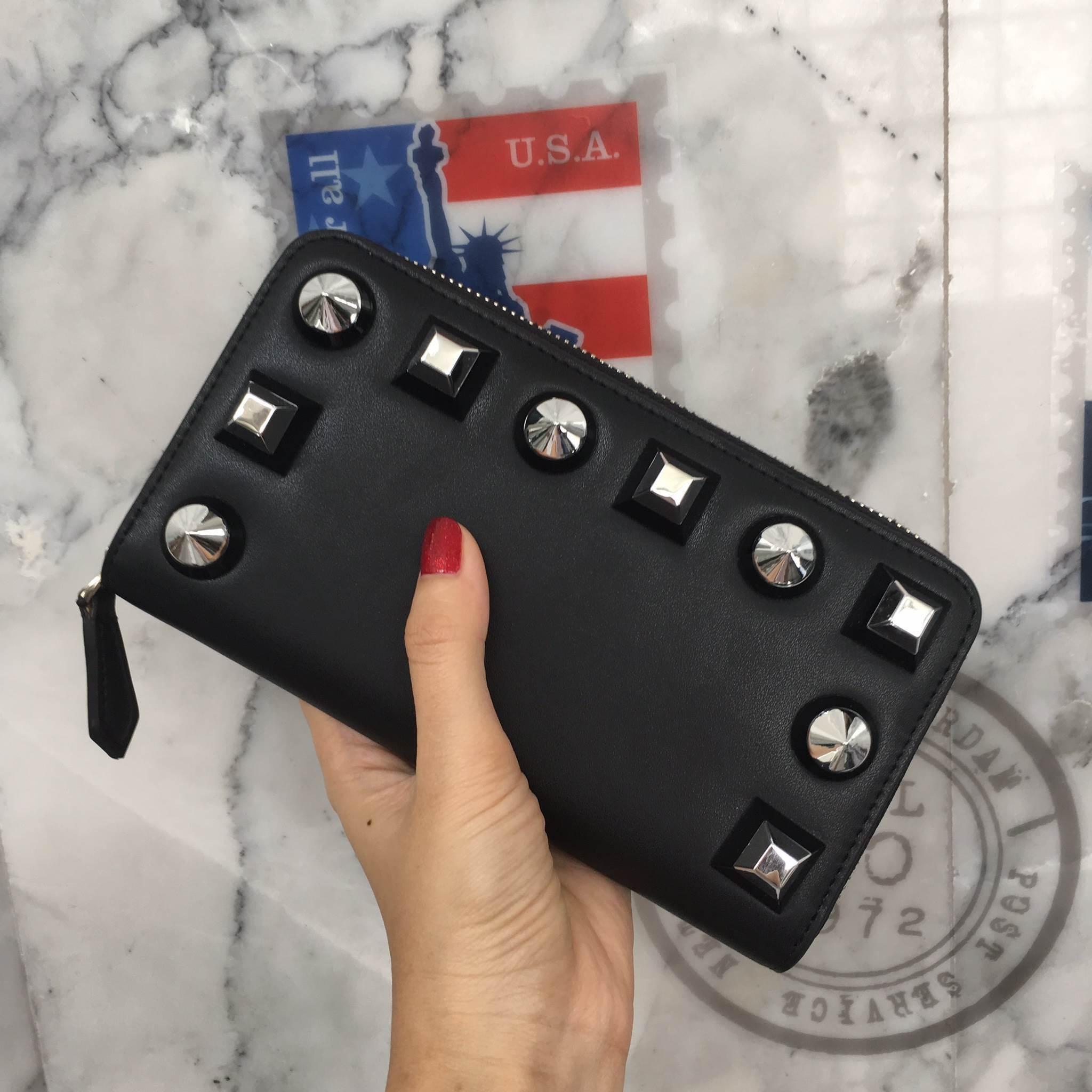 กระเป๋าเงิน ใบยาวซิปรอบ หนังแท้ Bagshopweb.com Mid Year Sale KEEP Fasty zipper Wallet