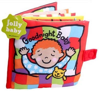 หนังสือผ้า Good Night Baby by Jolly baby