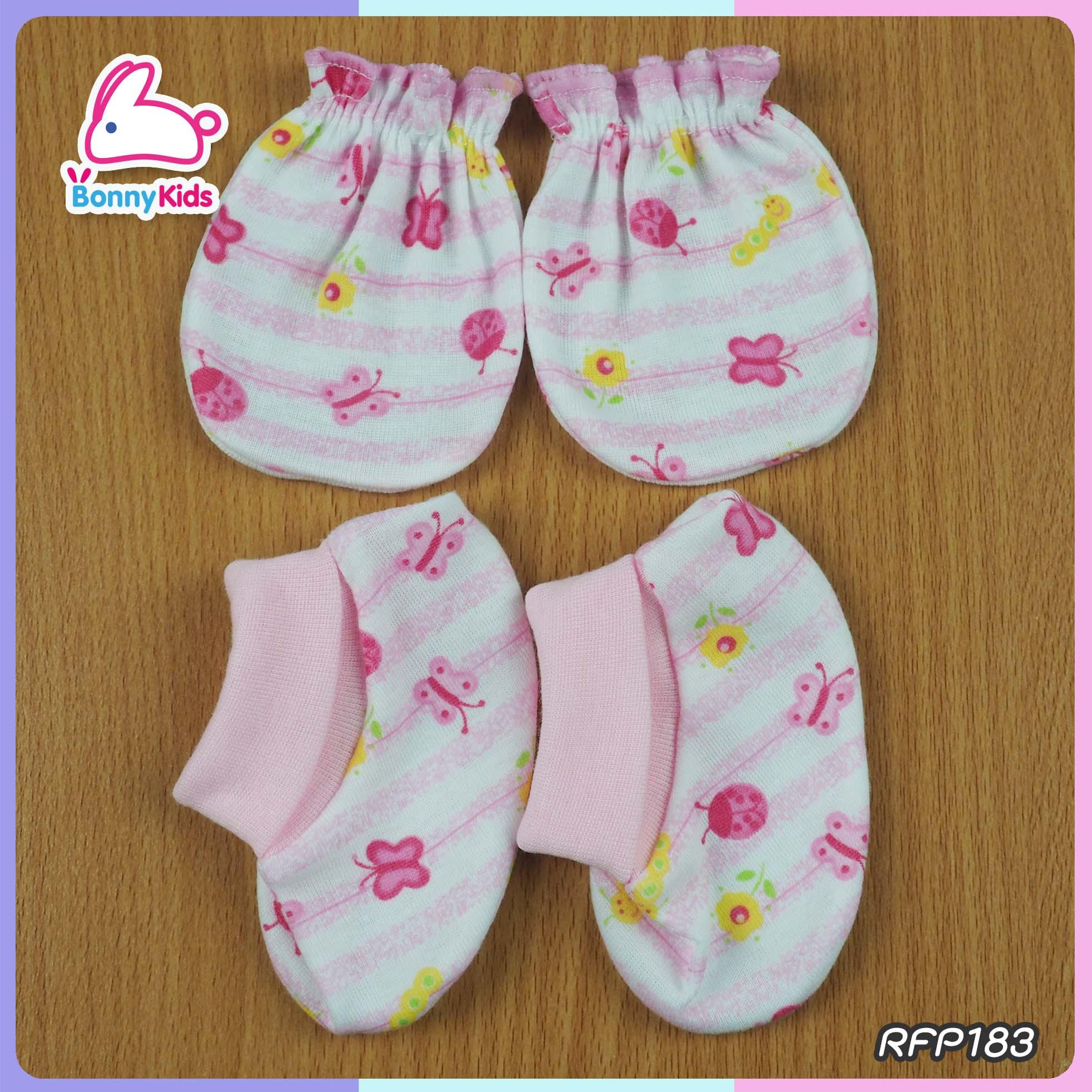 ถุงมือ +ถุงเท้าพับข้อ (แพ็ค 12 เซ็ต)