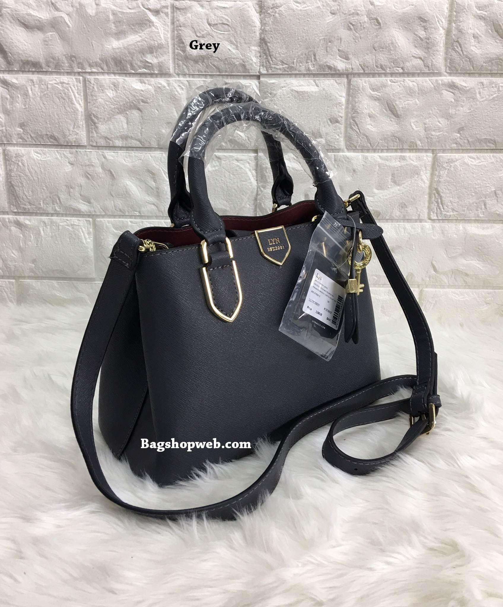LYN ATHENA S BAG 2017 กระเป๋าถือหรือสะพาย หนังนิ่มทรงสวย