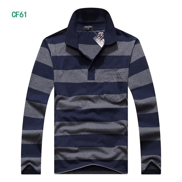 เสื้อยืดคอปก แขนยาว(CF61)