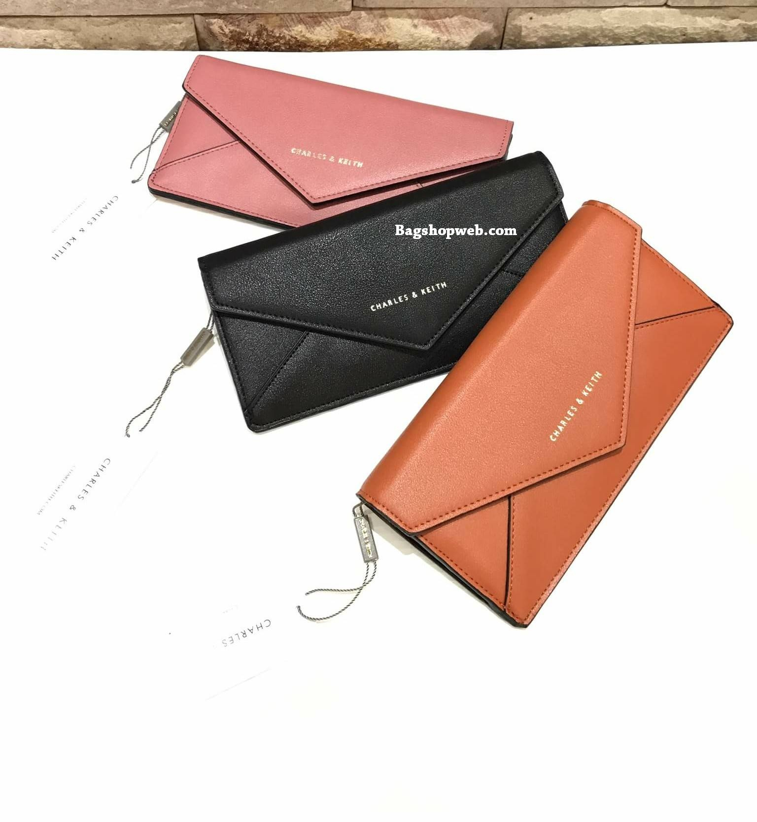 CHARLES & KEITH Long Envelope Wallet
