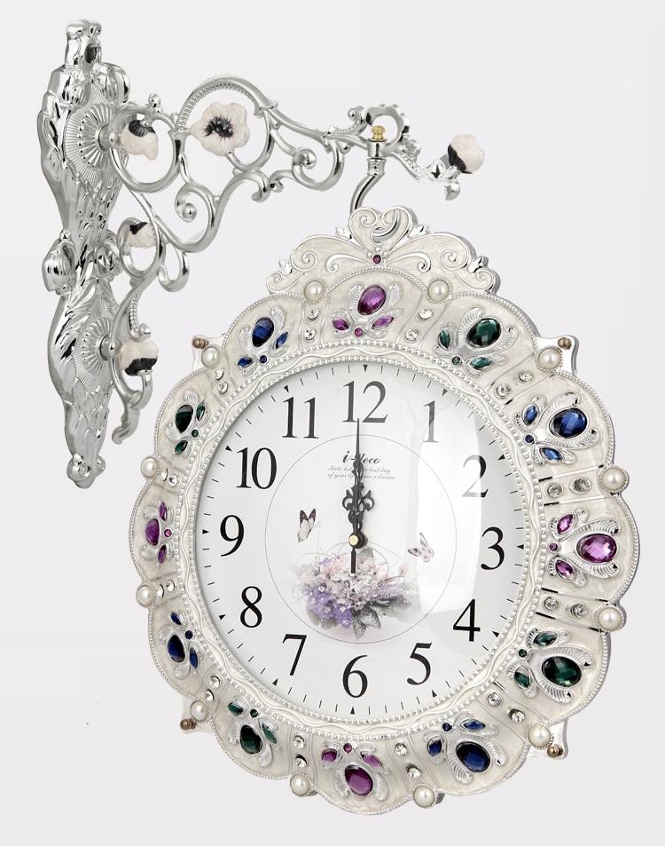 นาฬิแขวนผนัง-สไตล์วินเทจ ทรงยุโรป หรูหรามีระดับ ทันสมัย (Pre)