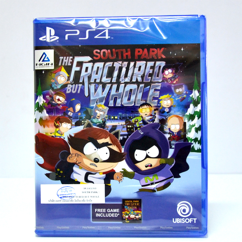 PS4™ South Park: The Fractured But Whole Zone 3 Asia / English