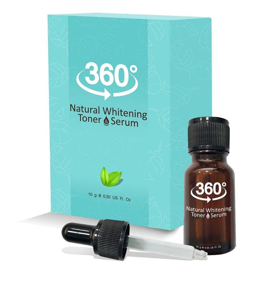 360 Natural Whitening Toner โทนเนอร์ 360 สลายฝ้า หน้าใส ขายเครื่องสำอาง อาหารเสริม ครีม ราคาถูก ของแท้100% ปลีก-ส่ง