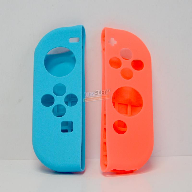 ซิลิโคนจอยคอน + ครอบปุ่มอนาล็อก Silicone Joy-Con for Nintendo Switch