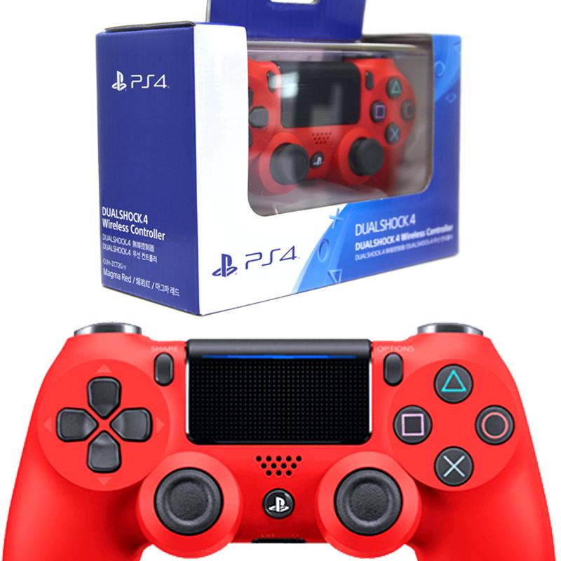 【New】Dualshock 4 Wireless Controller สีแดง รุ่นใหม่ CUH-ZCT2G.11