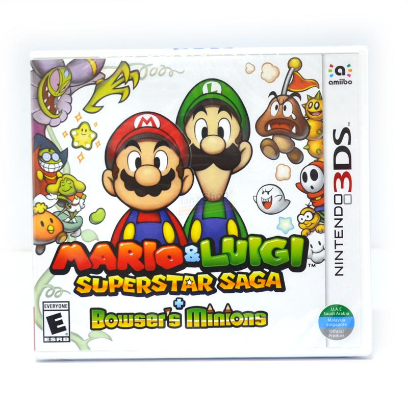 3DS™ Mario & Luigi: Superstar Saga + Bowser's Minions Zone US / English