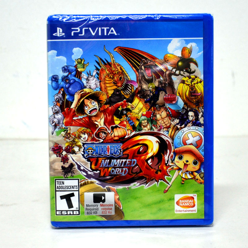 PSVITA One Piece Unlimited World Red Zone 1 US / English Version