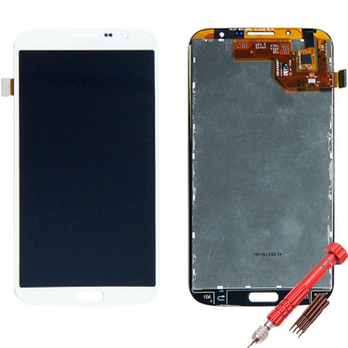 ราคาหน้าจอชุดแท้ Samsung Mega 6.3 แถมฟรีไขควง ชุดแกะเครื่อง+กาวติดหน้าจอ