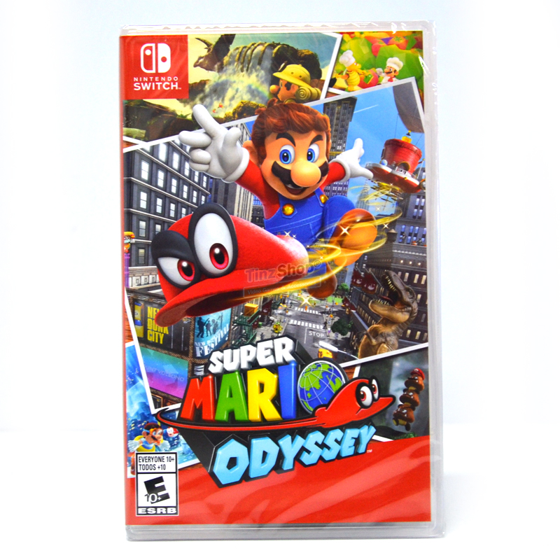 Nintendo Switch™ Super Mario Odyssey Zone US, English ราคา 1890 // ** ส่งฟรี