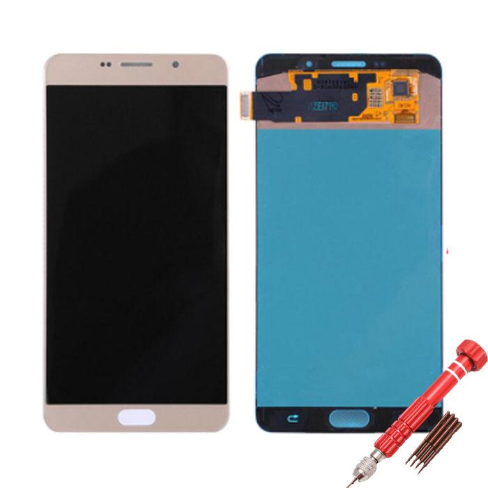 ราคาหน้าจอชุดแท้ Samsung A8 Plus 2018 แถมฟรีไขควง ชุดแกะเครื่อง+กาวติดหน้าจอ