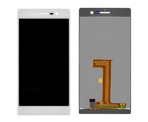 ราคาหน้าจอชุด+ทัชสกรีน Huawei P7 สีขาว แถมฟรีไขควง ชุดแกะเครื่อง อย่างดี