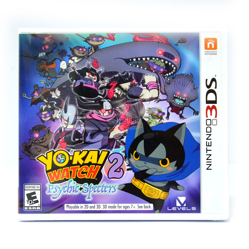 3DS™ Yo-kai Watch 2: Psychic Specters Zone US / English ราคา 1390.-