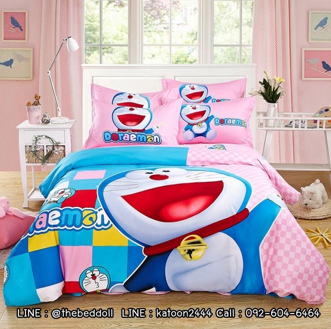ผ้าปูที่นอน ลายการ์ตูนโดเรม่อน DORAEMON Bedding Set