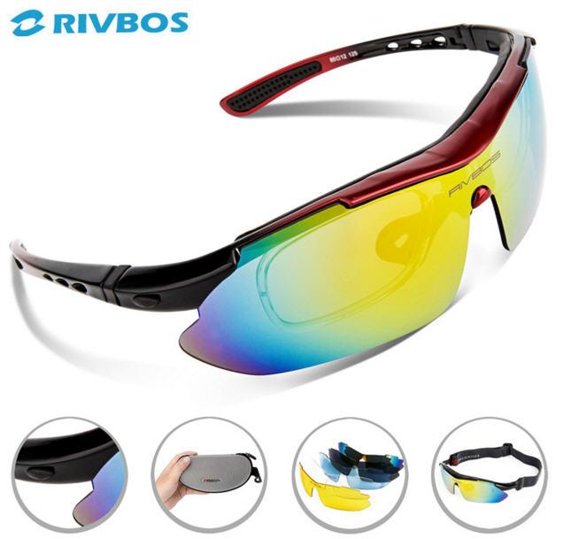 แว่นตาปั่นจักรยาน RIVBOS พร้อมคลิปสายตา : RB0806