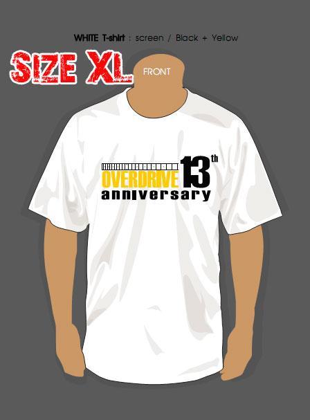 T-SHIRT : 13th YEAR (SIZE : XL)