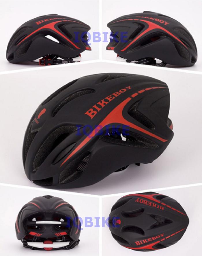 หมวก Bikeboy ทรง Aero สีดำแดง