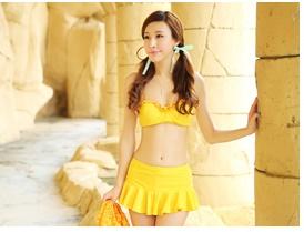 บิกินี่ Bikini-Fairy Colorful (Yellow)