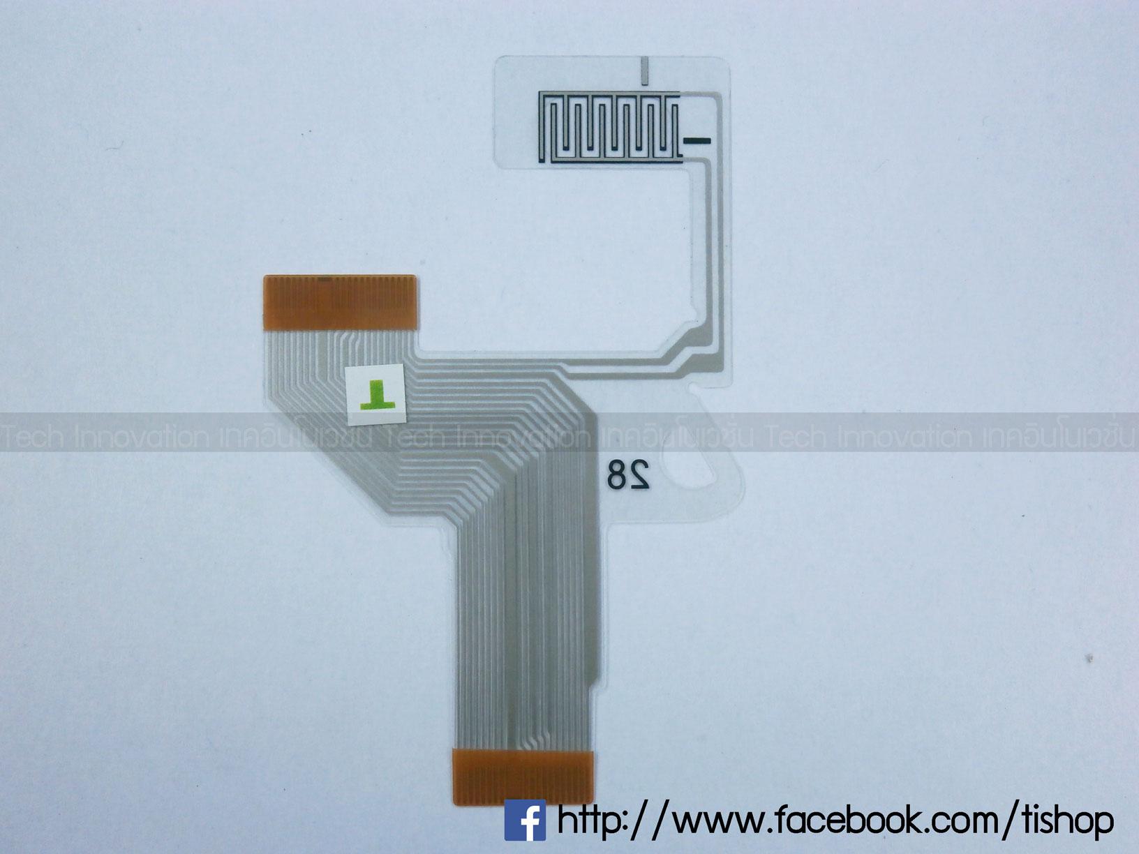 PSP1000 แผงวงจรควบคุม XO (ขวา)